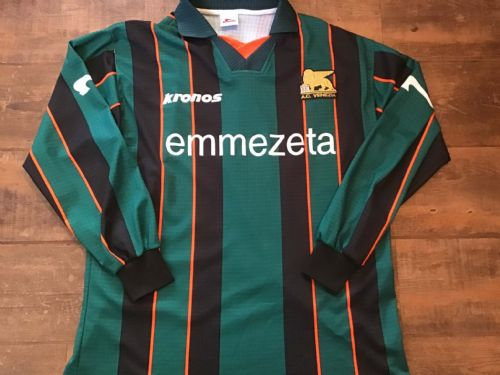 1999 2000 Venezia Home L/s Football Shirt 2XL